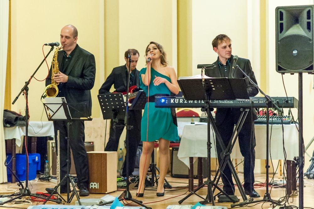 Gurmania Band - ples ZŠ Sv. Voršily 1